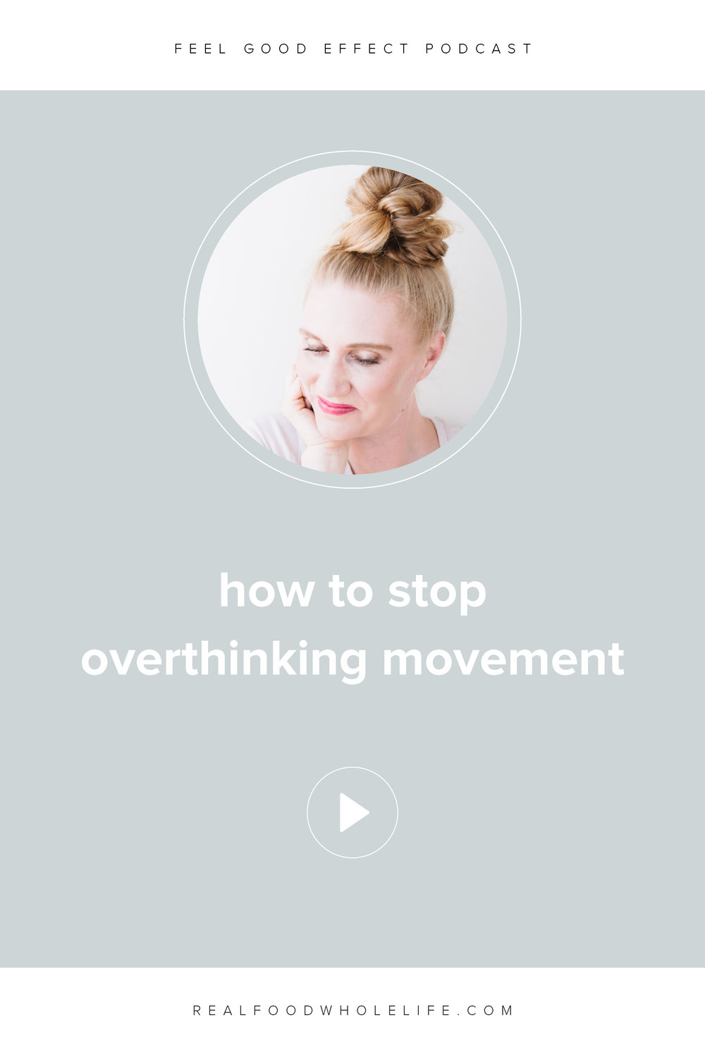 How to stop overthinking movement. In this episode of the Feel Good Effect, we're going to break down consistent movement with some tactical tips, strategies, and habits to get you out of overthinking and into action. #realfoodwholelife #feelgoodeffectpodcast #personaldevelopment #selfcare #selfimprovement #podcast #wellnesspodcast #healthpodcast  #wellness #wellnesspodcast  #healthandwellness #healthandwellnesspodcast #miniseries #overthinking