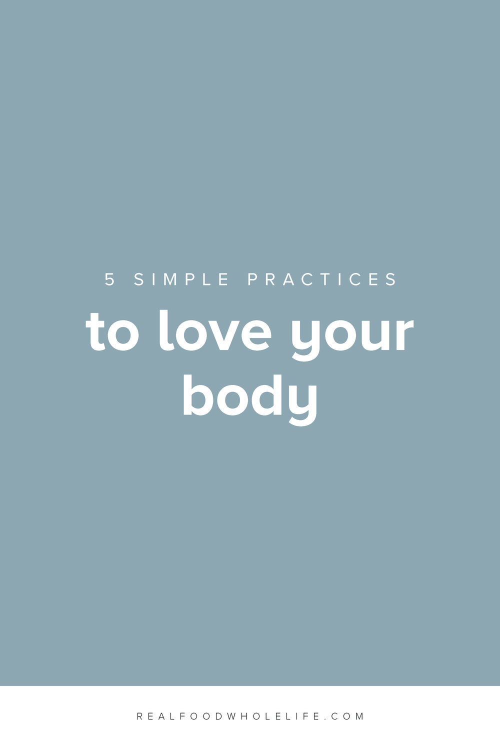 Cultivating body love is a way to find more body acceptance, improve body image, and learn how to be comfortable in your own skin.  #realfoodwholelife #feelgoodeffect #gentlewellness #bodylove #wellness #gentleisthenewperfect #acceptance