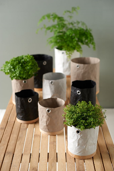 Made green paper pots.jpg