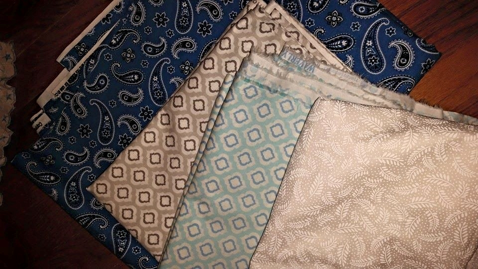Juanita Huges' Fabric Selection