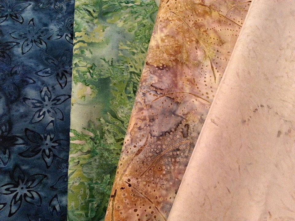 Sherry Bolender's Fabric Selection