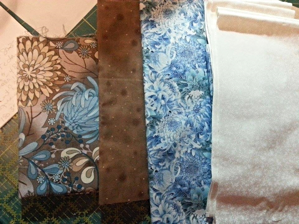 Laura Huffman Reynolds's Fabric Selection
