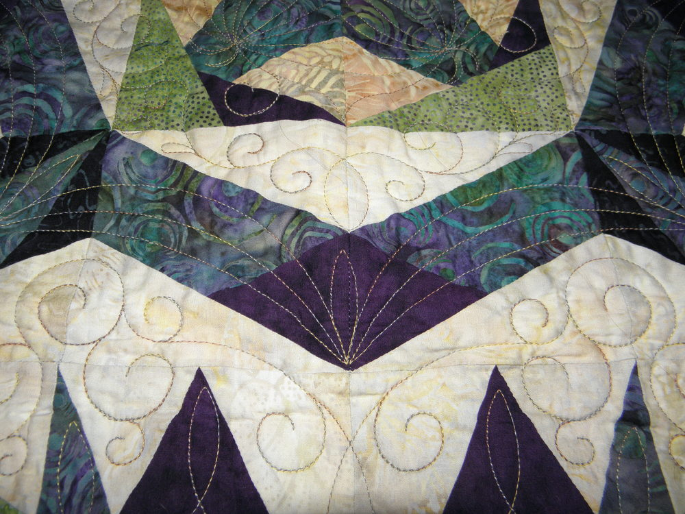 Cactus Bloom Quilting 2