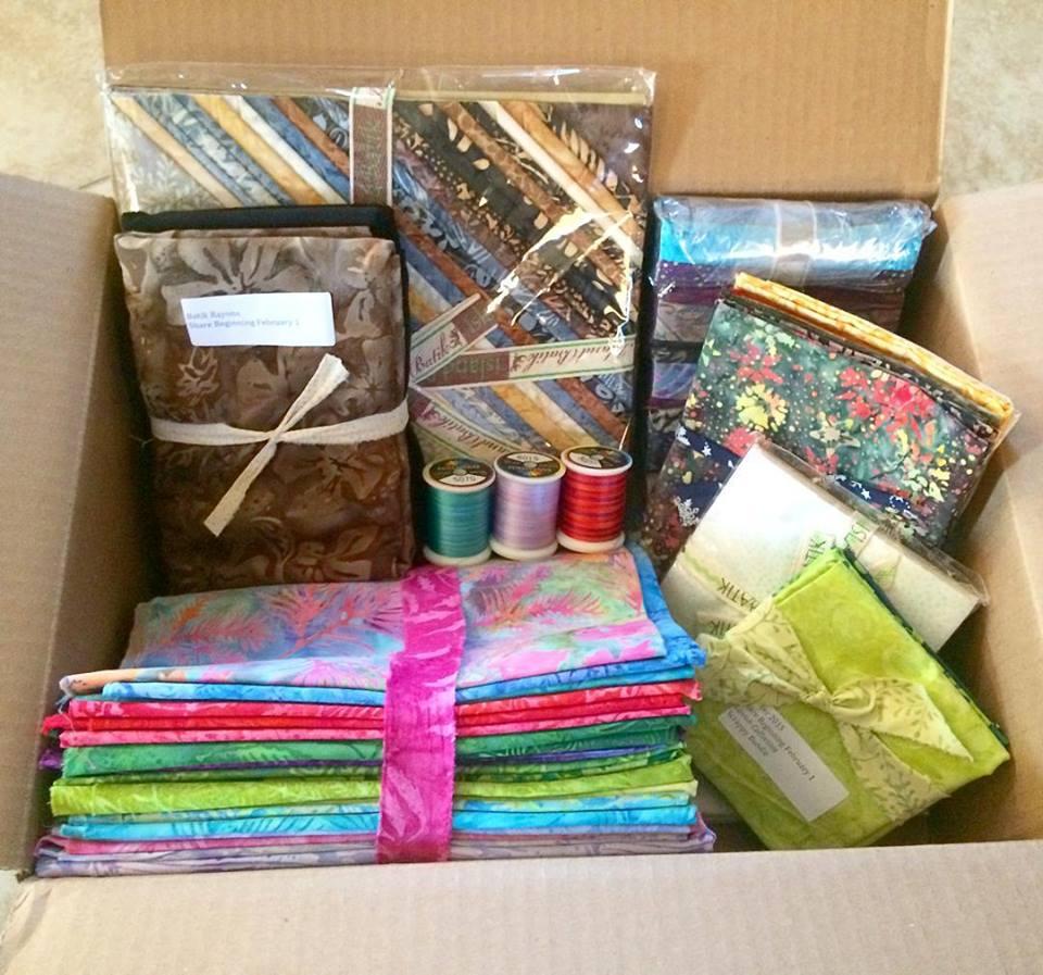 Island Batik Ambassador box.