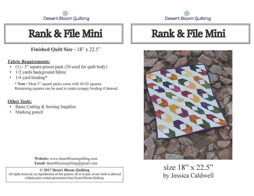 Rand & File Mini Cover