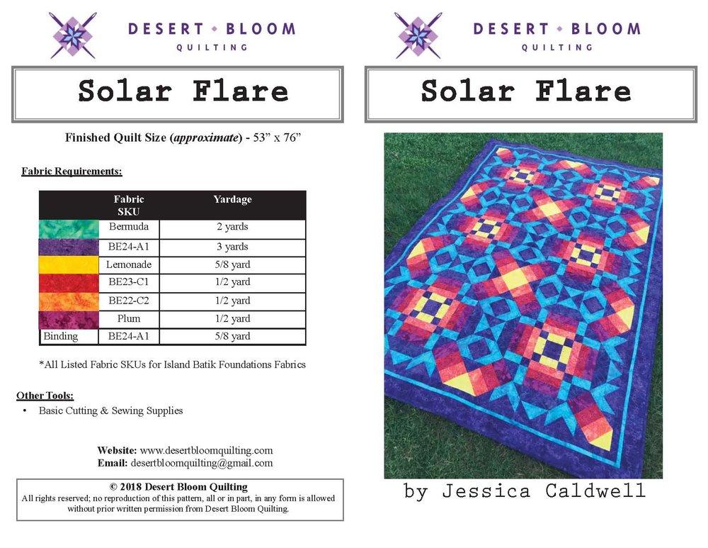 Solar Flare Cover