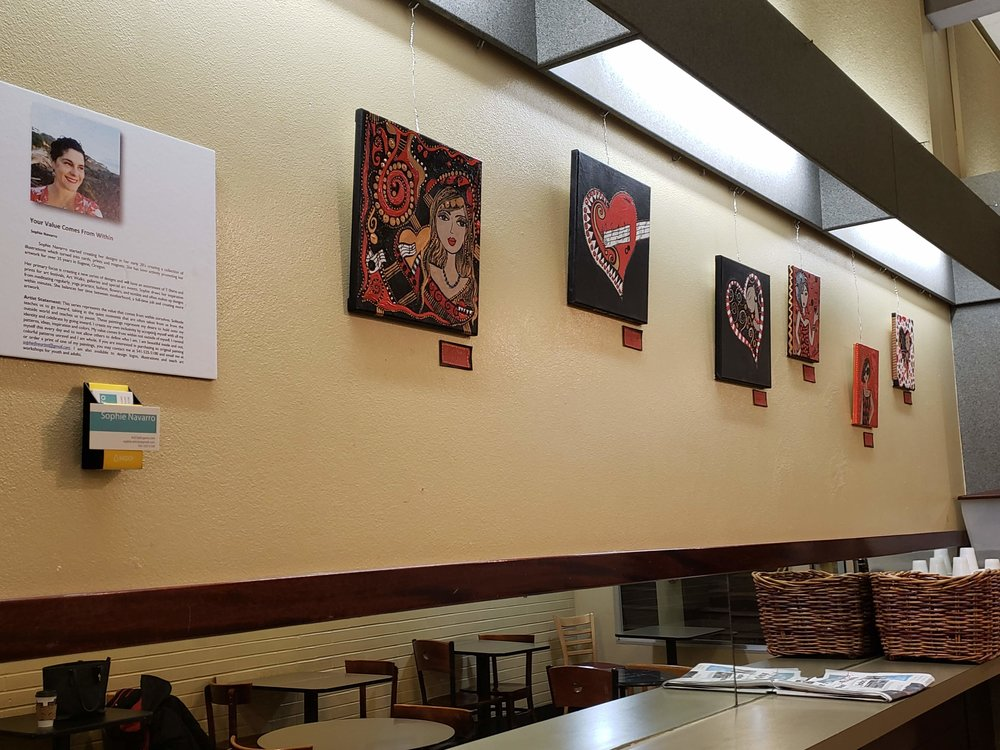 Full City Cafe Art Exhibit