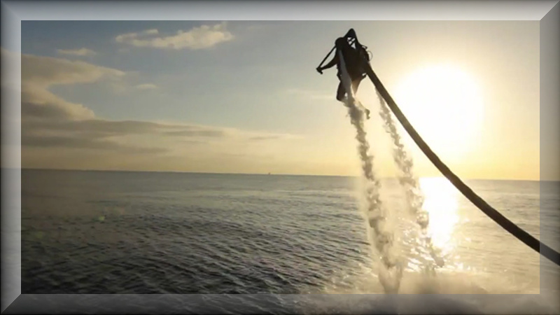 water jet packs
