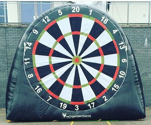 13ft high, 16ft wide, Dartboard