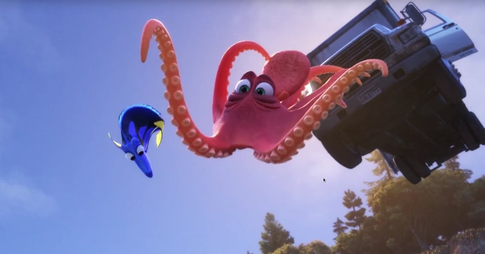 FINDING DORY (2016)<br>Layout Artist
