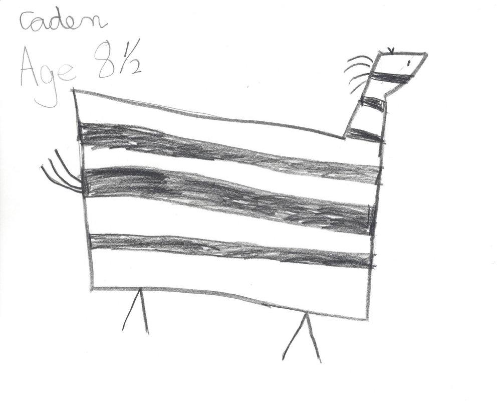 Caden, age 8 1/2