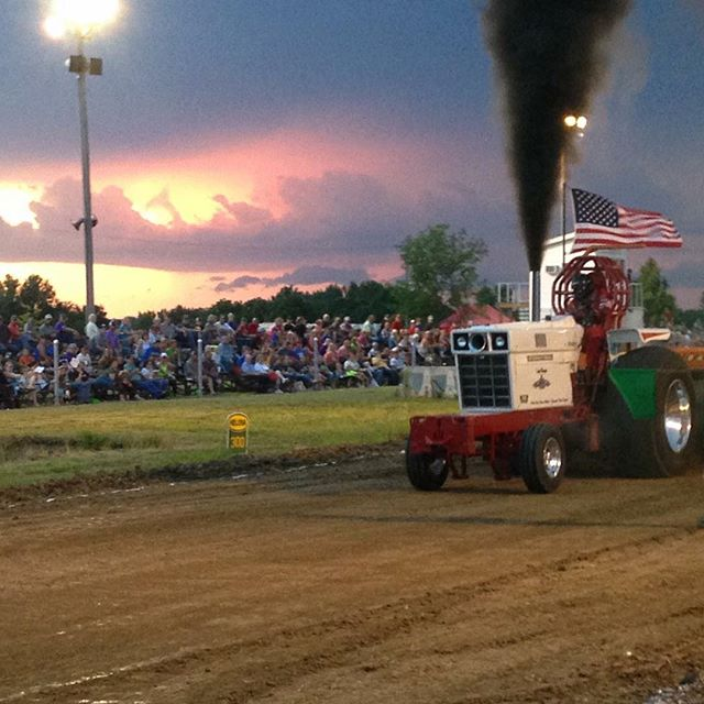 Check out some of these awesome photos of last night's NK Puller Tractor & Truck Pull. Photo by Dave Schreiner.
