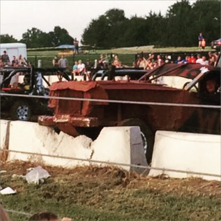 It's an intense night out at the Demo Derby tonight.
