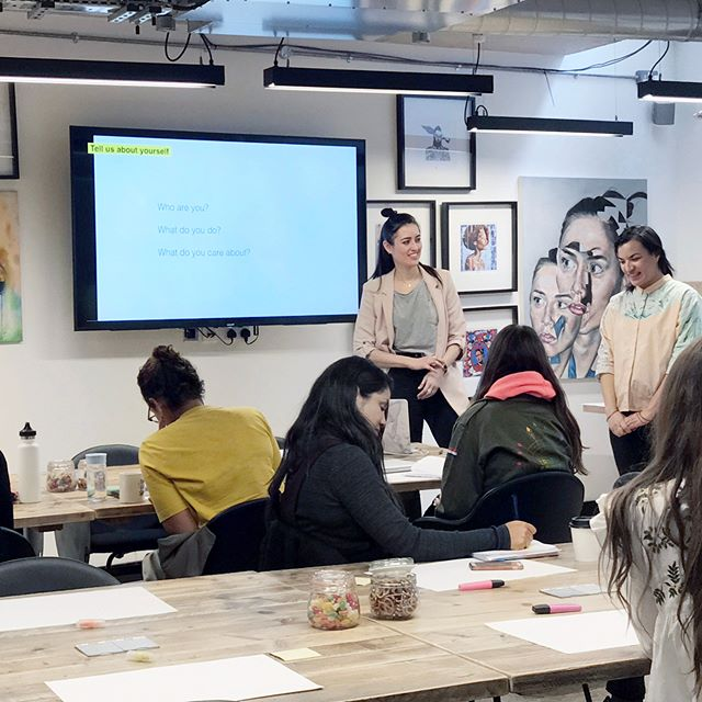 Thanks to everyone who joined our Branding workshop last Saturday @workdotlife in London Fields! Me and @neliana.london loved to meet everyone and hear your stories and passions. We hope you all enjoyed the day as much as we did. I know I learned a lot and I hope to be back soon for another great collaboration :) #entrepeneur #creative #branding #startup #londonfields #brandingtoolkit #brandingtips #london #workdotlife #nikabrandworkshop #freelancing #freelance #girlboss #business #design #sharing #strategy @fleetwood_of_london @sereenaabbassi @indie_foolheea @tribuspirit @theengagementco @humanafterallstudio