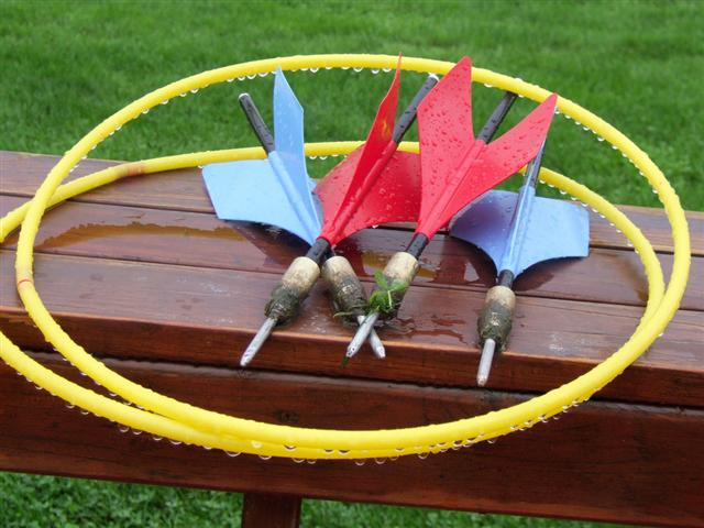 Lawn Darts: Culling the weak and slow from suburban neighborhoods since 1963.