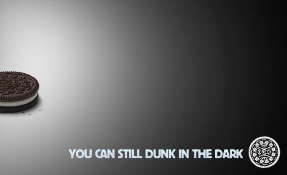 """""""It's OK, Honey. Oreo says we cant still dunk in the dark. Can you bring back my glass of mill, please?"""""""