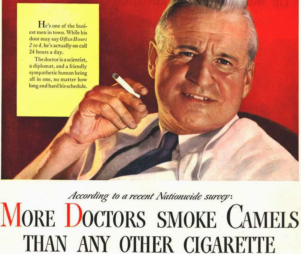 """""""Lung cancer? Hell, the fluoride will get you long before that."""""""