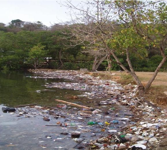 Trinidad has some wonderful beaches and some shocking attitudes towards the environment.  Photo: Plastikeep