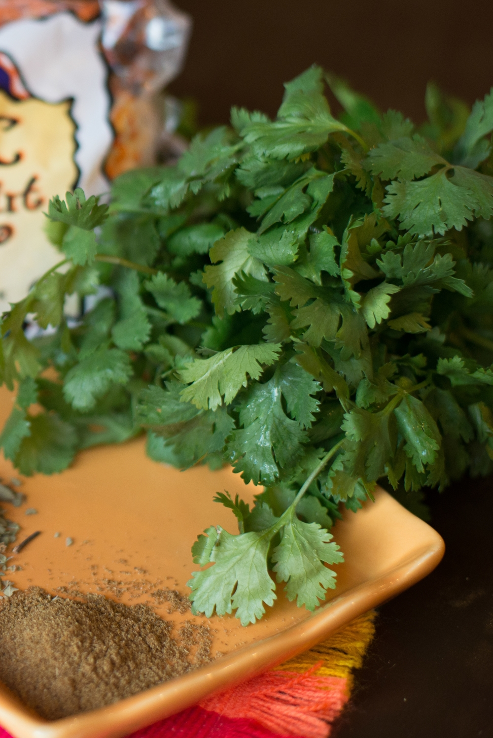 Cilantro and cumin