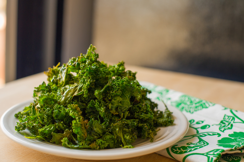 Crispy baked kale is a nutritional upgrade in healthy snacking!