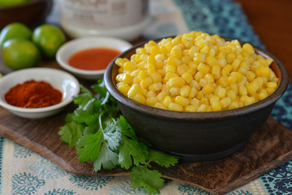 Mexican Skillet Street Corn ingredients