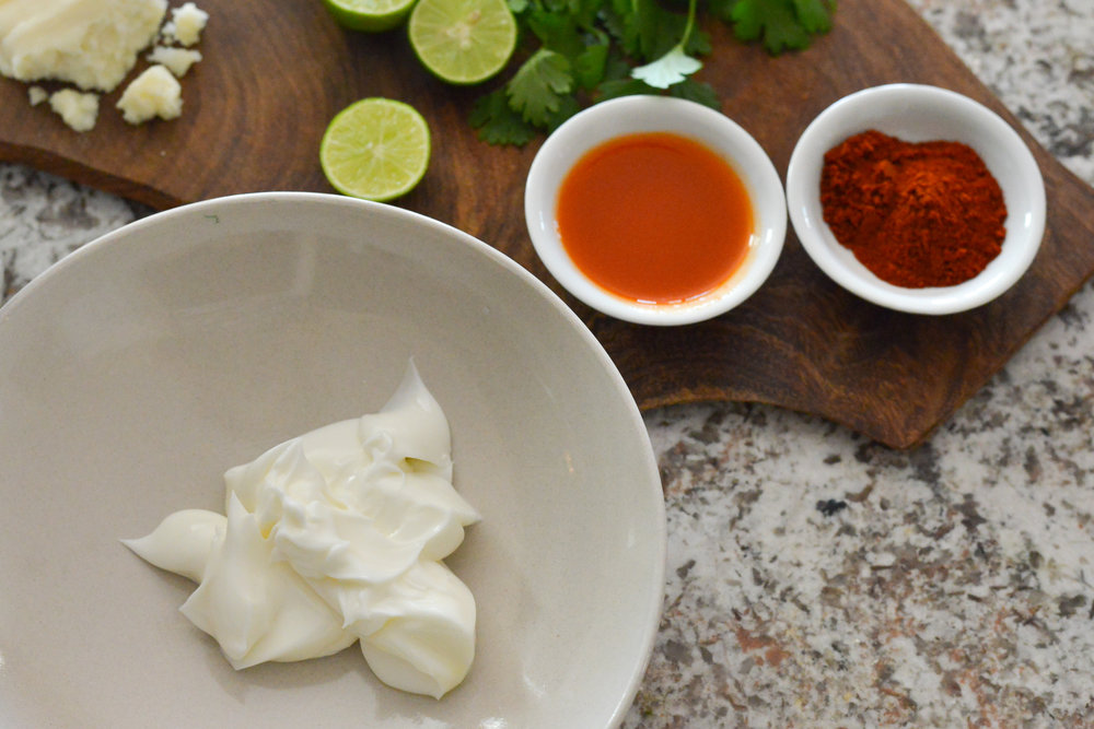 Chile Mayo Sauce ingredients