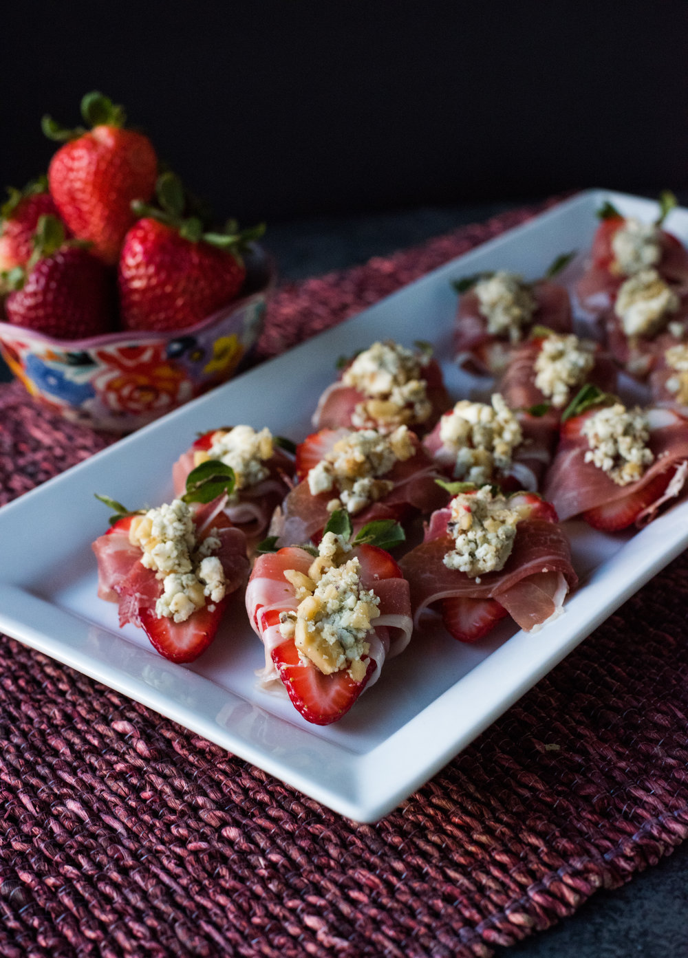 A super-simple recipe to feature at you next summer gathering! You're only four simple ingredients away from making your next favorite appetizer.