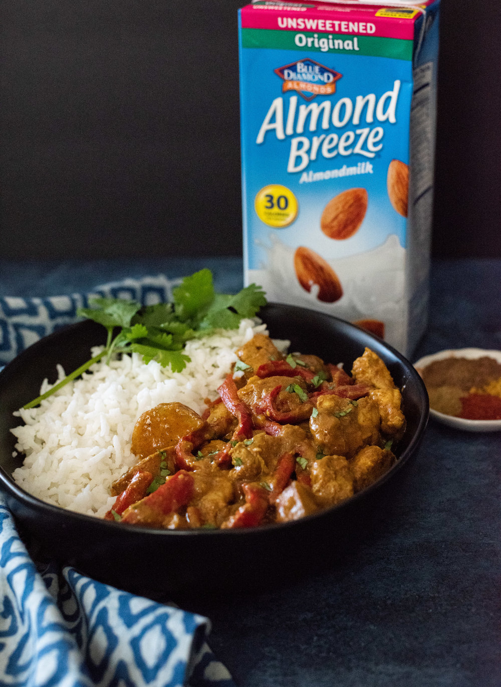 Chicken Curry with Almond Breeze