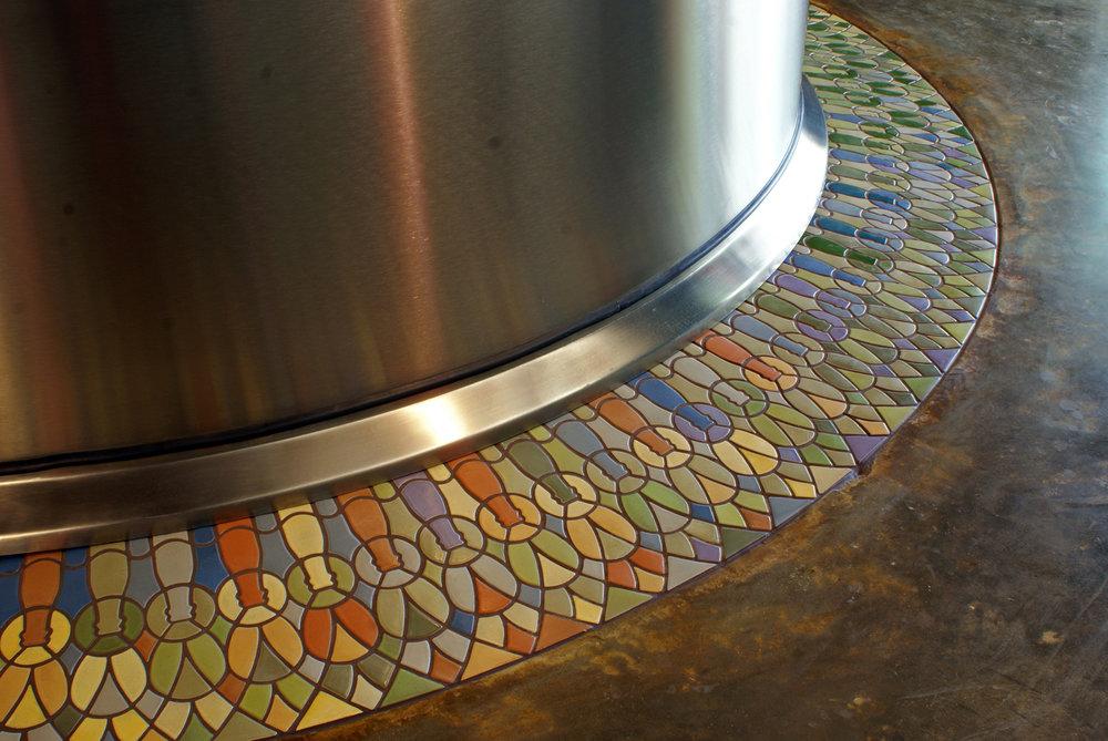 New Belgium Beer tile pattern installed2.jpg