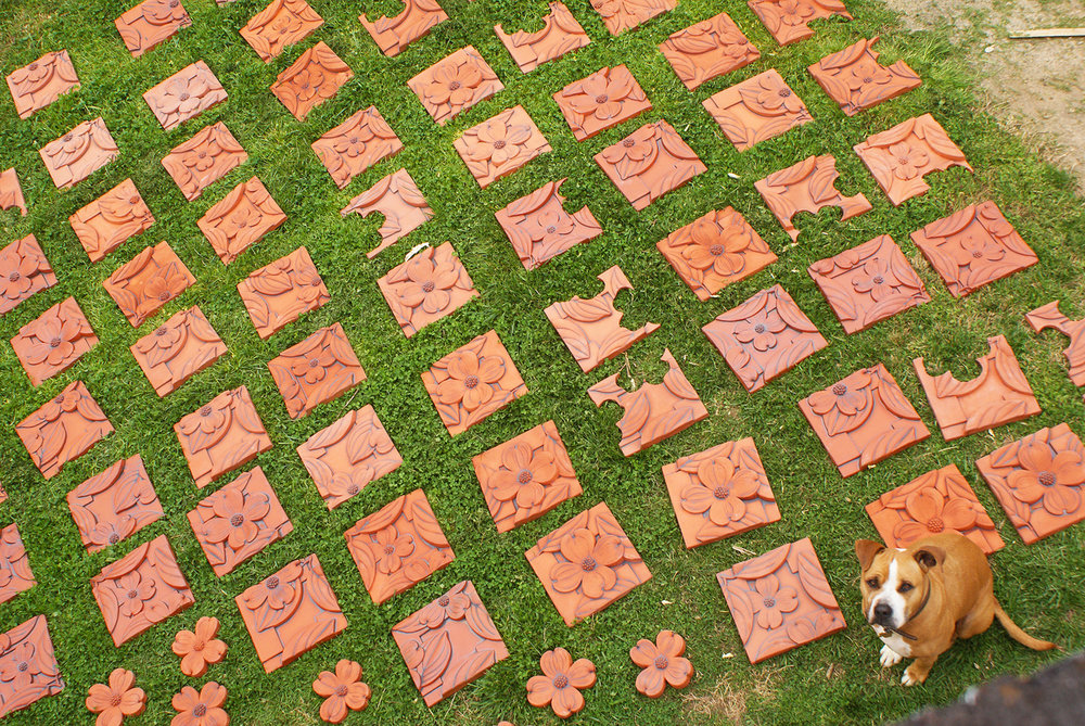 Mission tiles in the grass.jpg