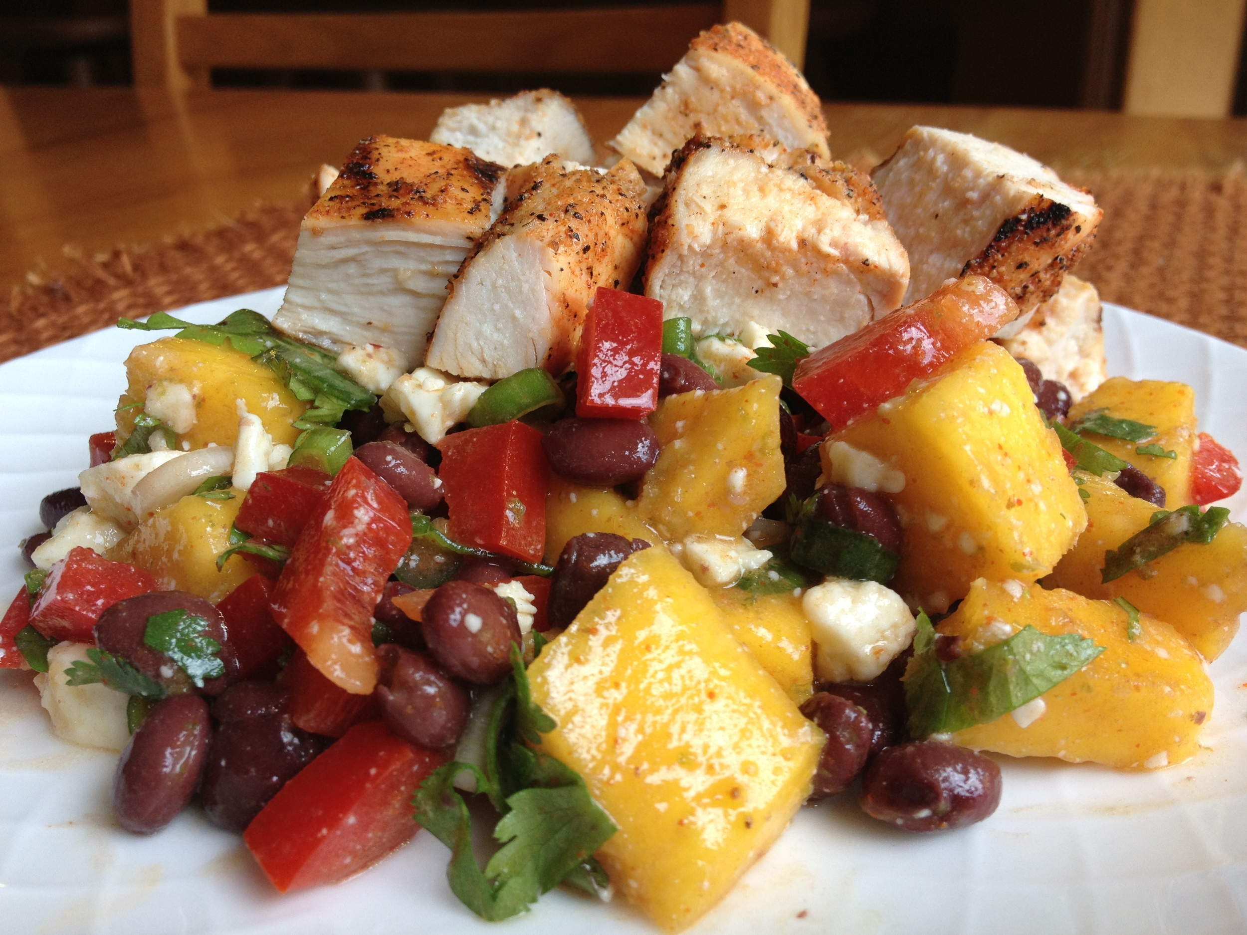 Mango Lime Chicken Salad
