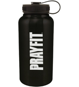 Prayfit Stainless Steel Water Bottle