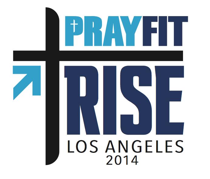 PrayFit RISE logo