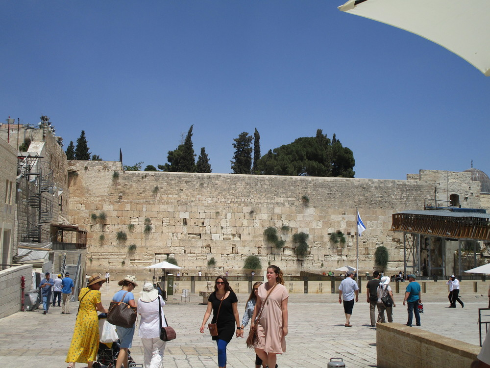 """Traditionally known as the Wailing Wall. (Currently, this is called """"The Western Wall"""".)"""