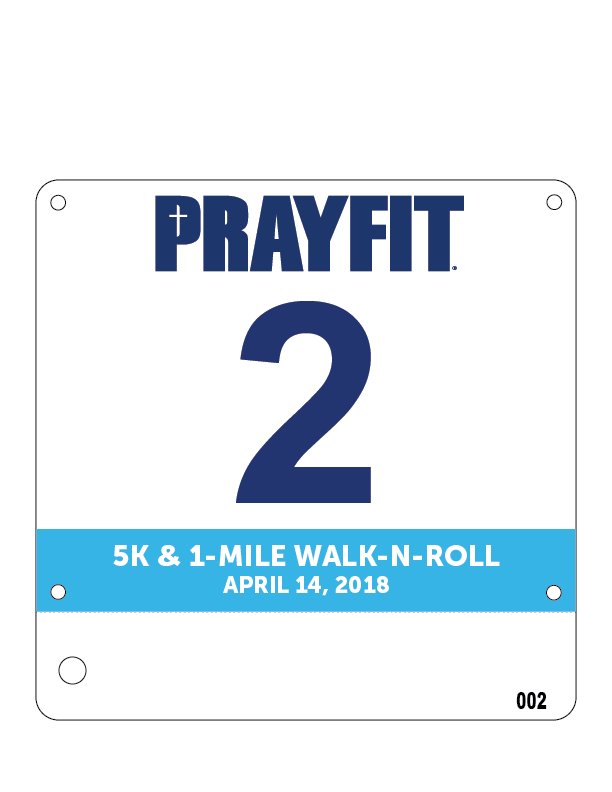 MY BIB - I think Jordan and I will both wear #2.