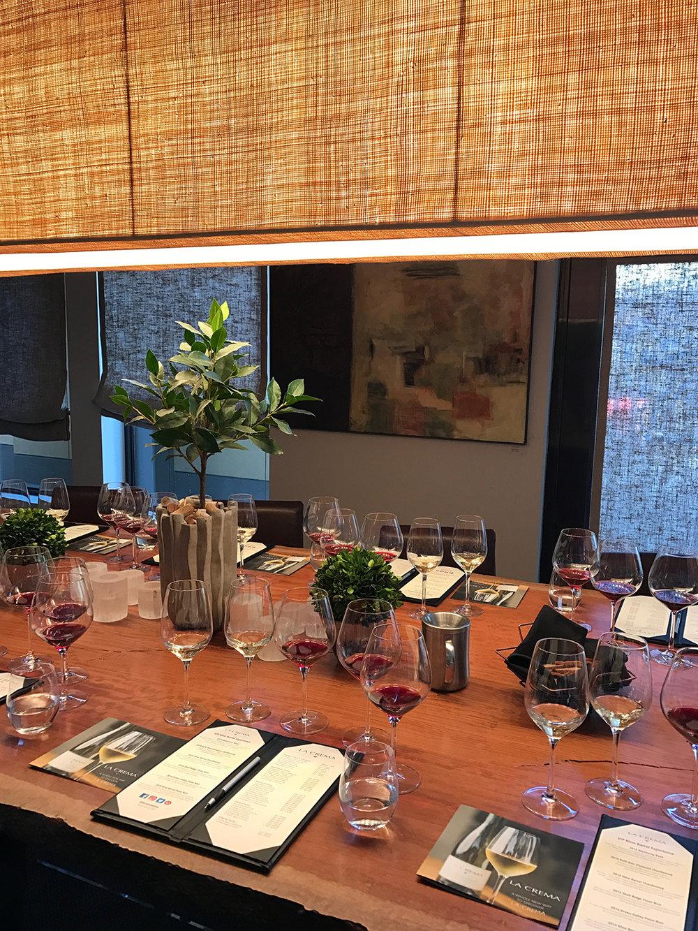 La Crema Wines Tasting Room Healdsburg