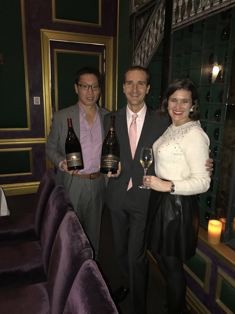 <b>THE JETSETTING FASHIONISTA</b> LA FOLIE SAN FRANCISCO WINEMAKER DINNER WITH ROEDERER ESTATE & DOMAINE ANDERSON