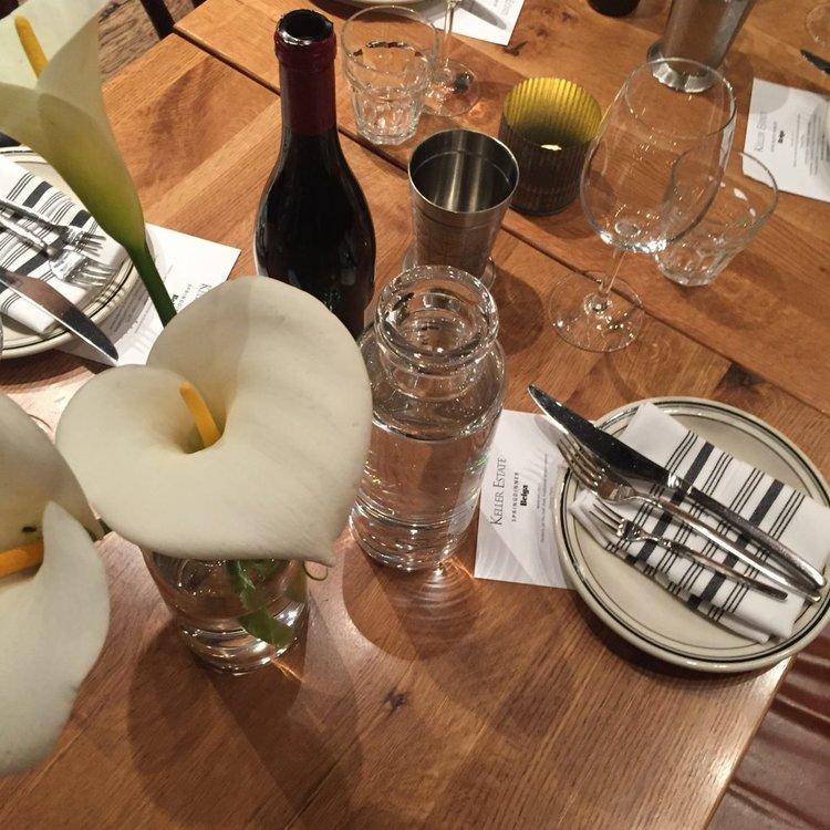 <b>ROSE COLORED GLASSES</b> Keller Estates Winemaker Dinner