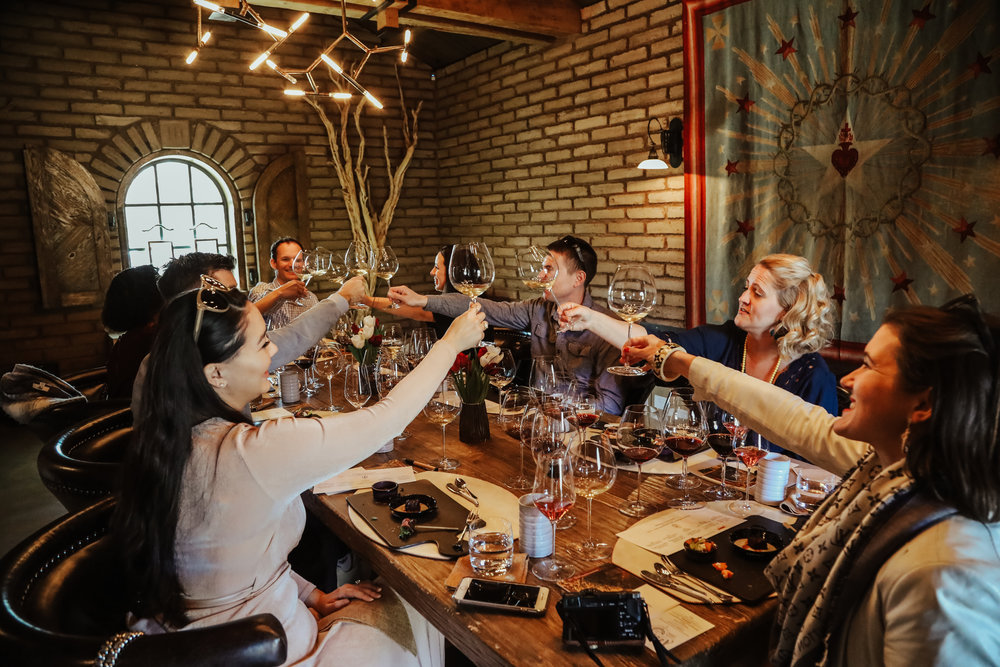 Cheers to the lovely girl & the fig meal, beautiful Three Sticks Wines and fun guests enjoyed during our afternoon at Three Sticks Wines hosted by Winemaker, Ryan Prichard.