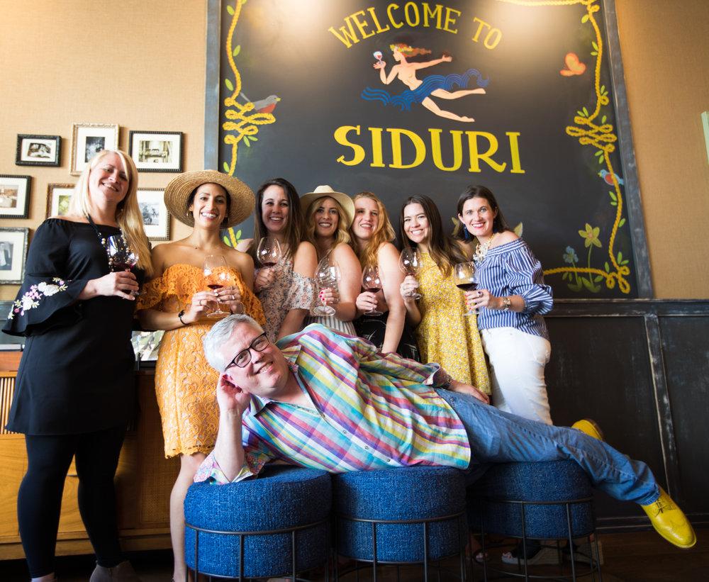 Siduri Tasting Room with Winemaker Adam Lee