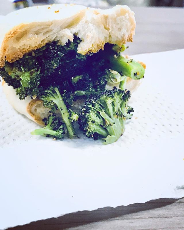 Broccoli for Everyone!!! #Repost @barbz1979 ・・・ My #lunchtime riff on the #no7sub #broccoliclassic  #foodstagram #broccoli #sandwich 🥪🥦