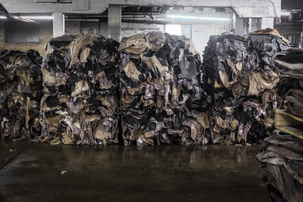 Black Bear Brand at the Horween Tannery