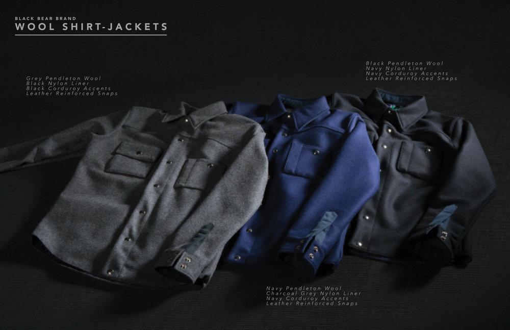 Black Bear Brand winter 2016/2017 pendleton wool collection