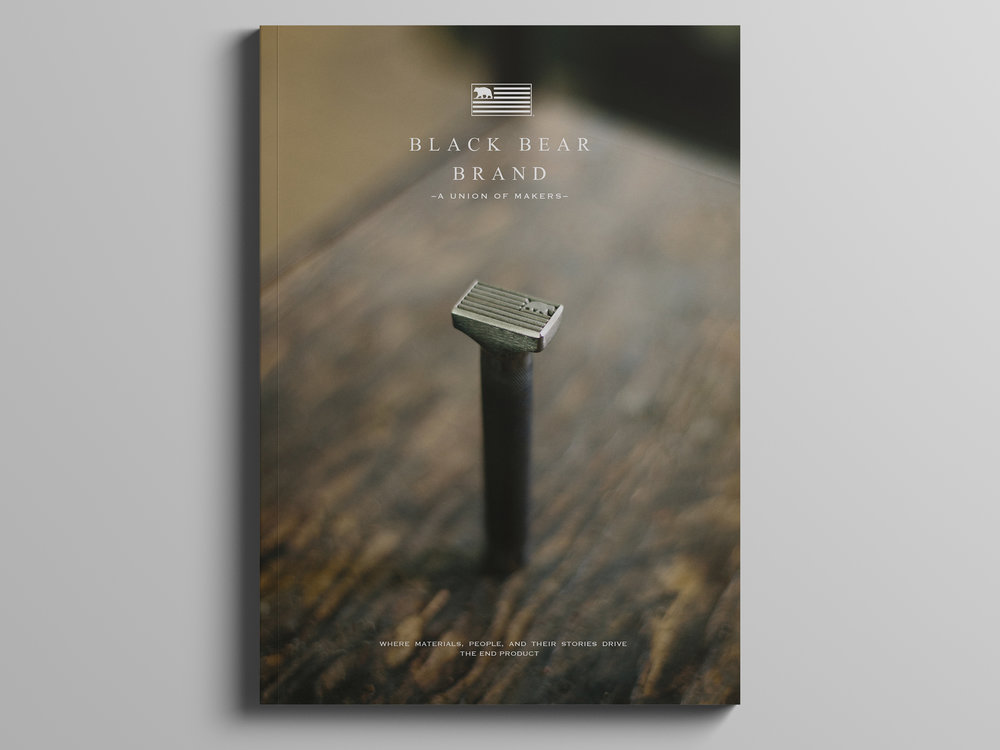 Black Bear Brand Our Journey 1st edition magazine