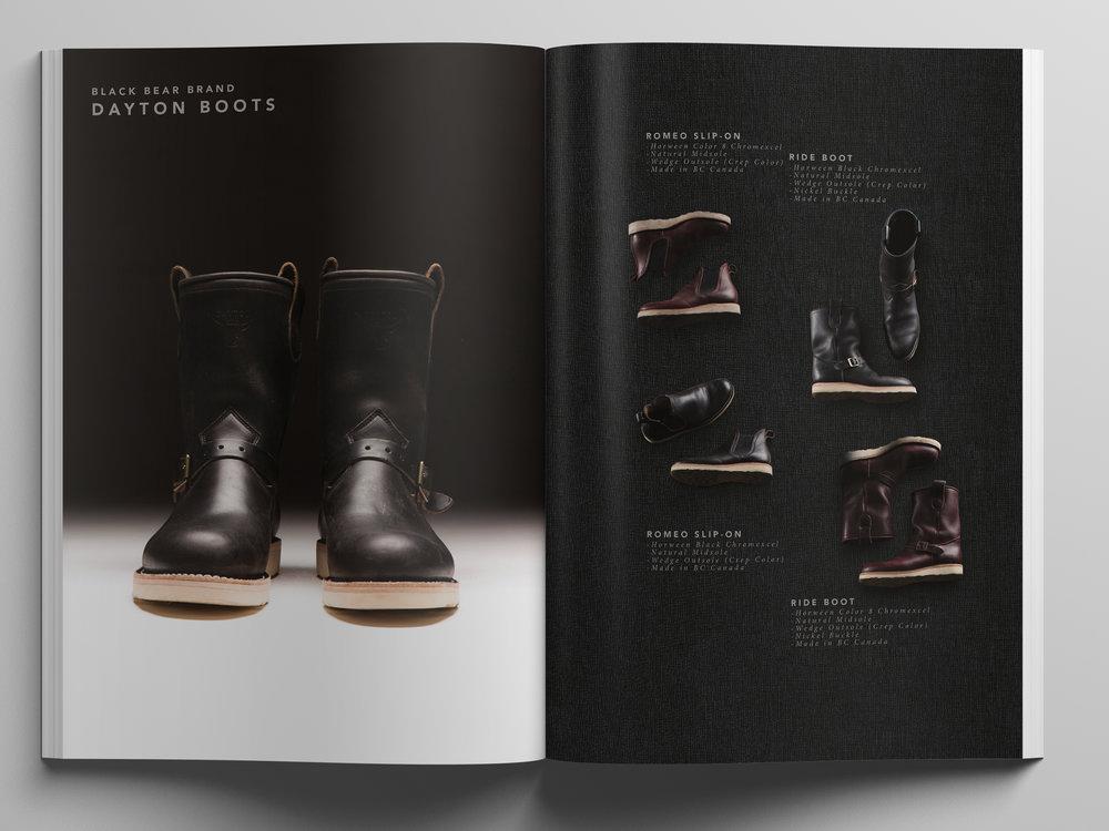 Black Bear Brand Boots