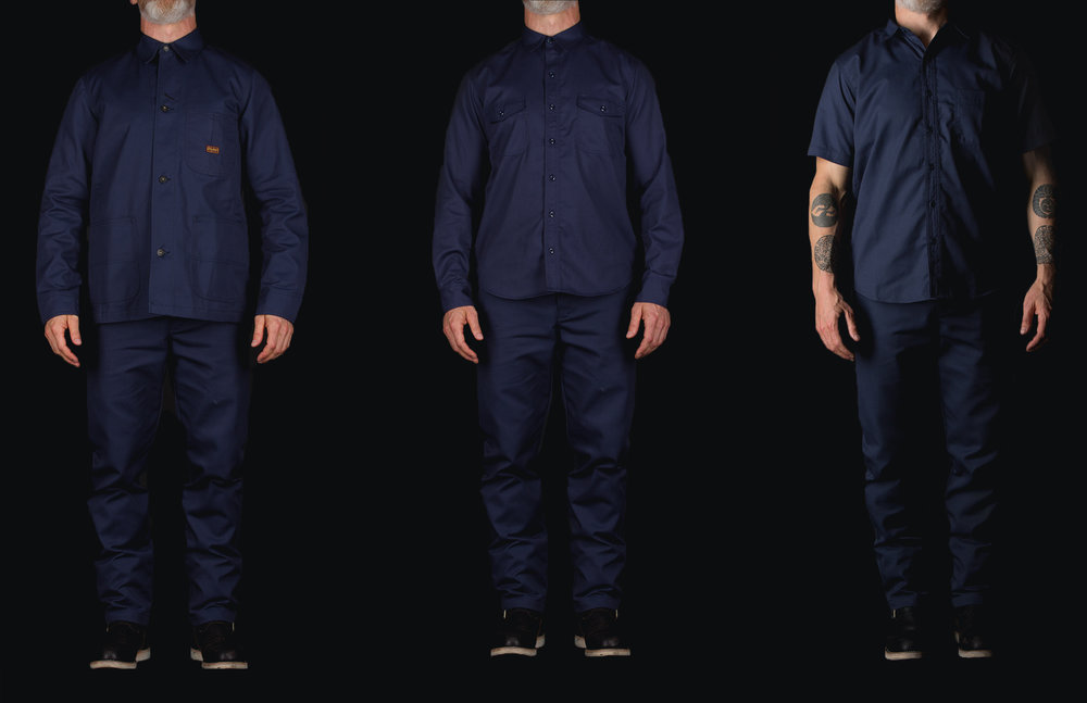 Black Bear Brand Collaboration with Dickies 1922 in Navy