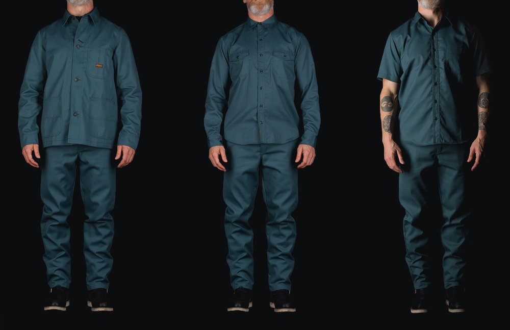 Dickies 1922 Collaboration with Black Bear Brand in Lincoln Green