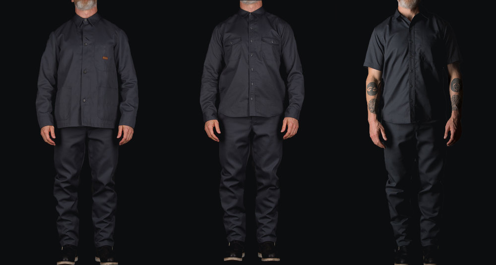 Black Bear Brand x Dickies 1922 Collaboration (Stone Grey)