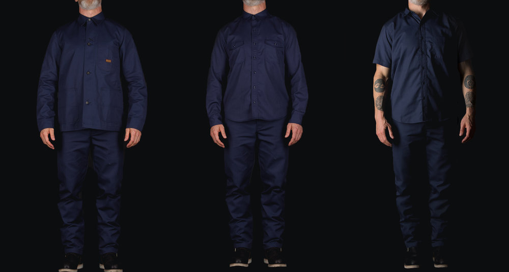 Black Bear Brand x Dickies 1922 Collaboration (Navy)