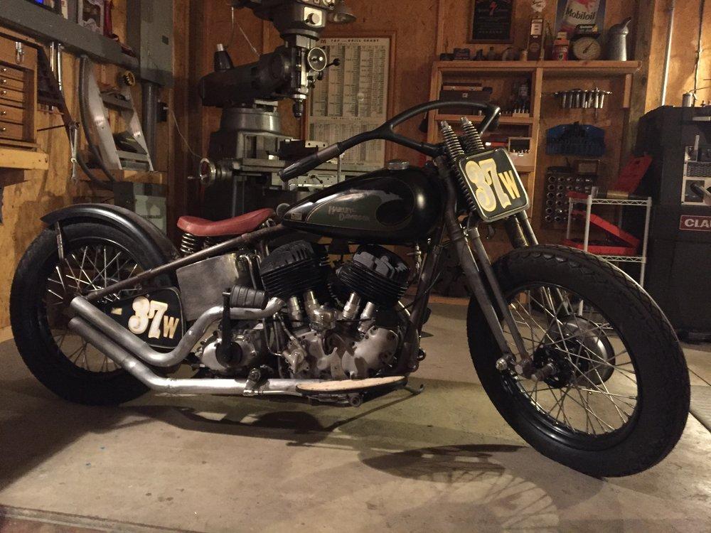 Black Bear Brand 1937 TROG bike